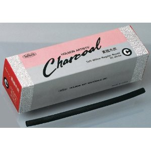 Holbein Charcoal No.C 25 Pieces (Willow / Medium)