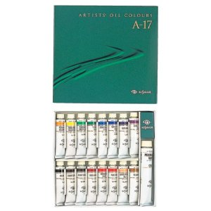 KUSAKABE Oil Color for Professional A-17 Color Set