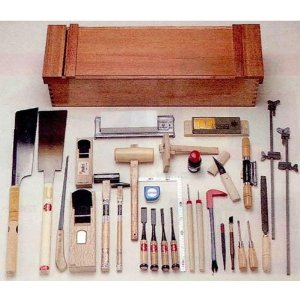 Woodworking tool set, KD-30 30 tool set