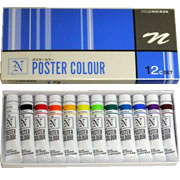 Nicker Poster Color 11ml 12 Color Set