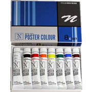 Nicker Poster Color 11ml 8 Color Set