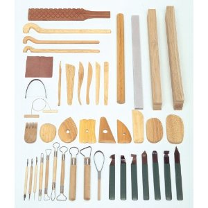 Forming by hand tools 43 tool set Ceramic tool set