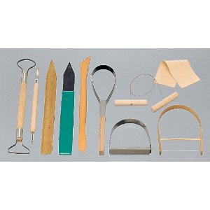 Forming by hand tools 10 tool set Ceramic tool set