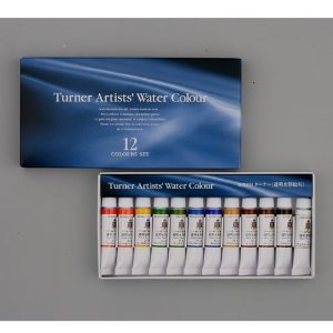 TURNER Artist's Transparent Watercolor 5ml 12 Color Set
